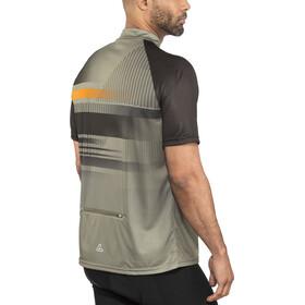 Löffler Track Bike Shirt Half-Zip Herren olive